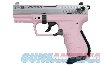 "Walther PK380 380ACP 3.6"" Nickel/Pink 8+1  Guns > Pistols > Walther Pistols > Post WWII > PK380"