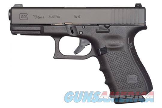 "Glock G19 Gen 4 MOS 9mm 4.01"" 15+1 - New in Case  Guns > Pistols > Glock Pistols > 19"