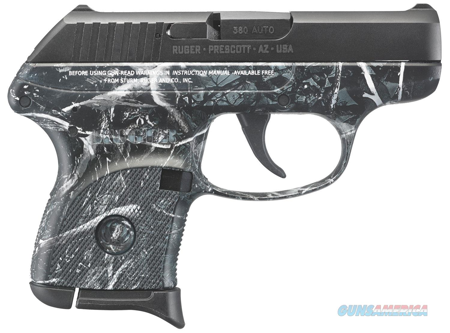 """Ruger LCP .380 ACP 2.75"""" 6+1 Moon Shine Harvest Camo - New in Box  Guns > Pistols > Ruger Semi-Auto Pistols > LCP"""