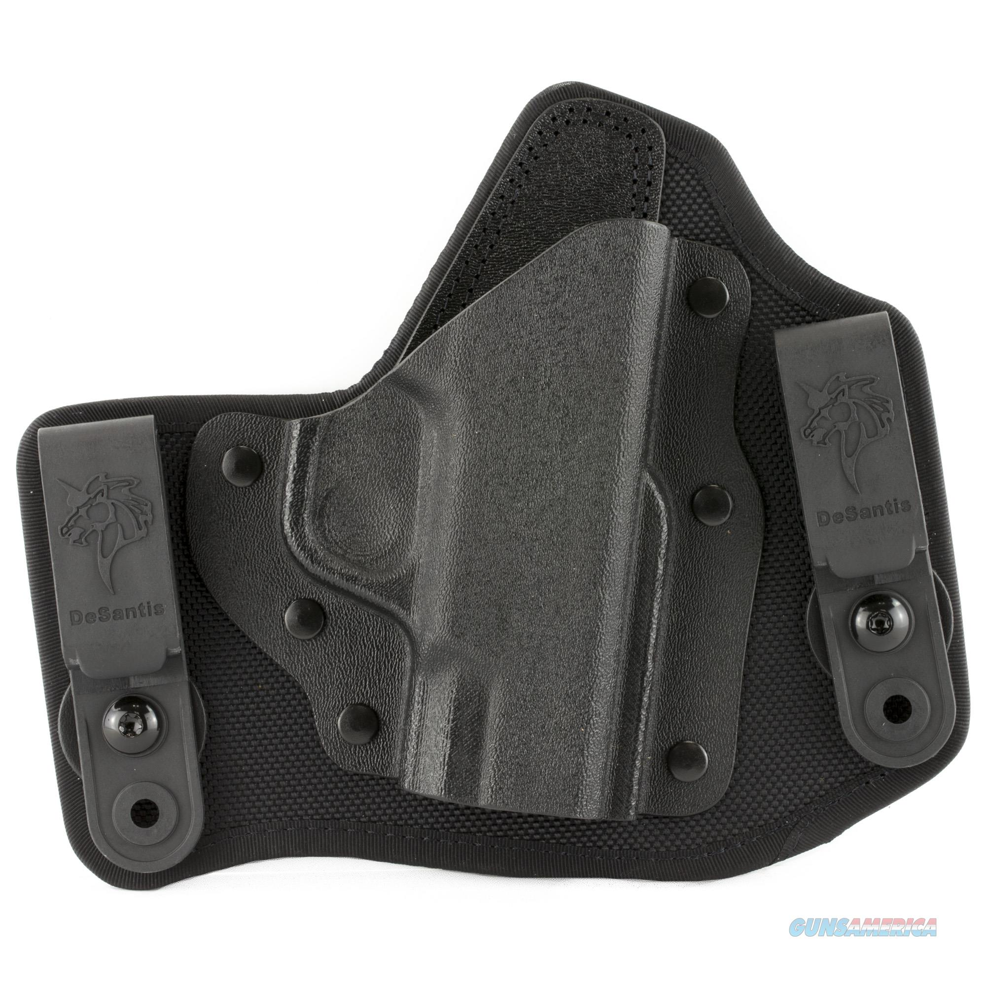 DeSantis M65KAX7Z0 Invader Inside the Waistband (IWB) Holster – Smith & Wesson M&P Shield 9/40  Non-Guns > Holsters and Gunleather > Concealed Carry