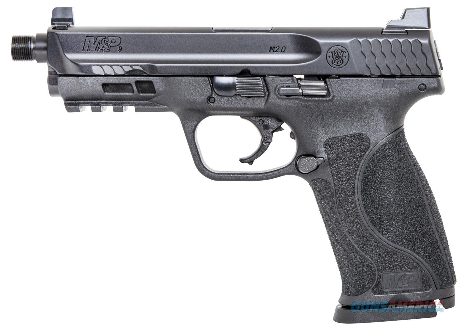 "Smith & Wesson M&P M2.0 9mm 4.6"" Threaded 17+1 - New in Box  Guns > Pistols > Smith & Wesson Pistols - Autos > Polymer Frame"