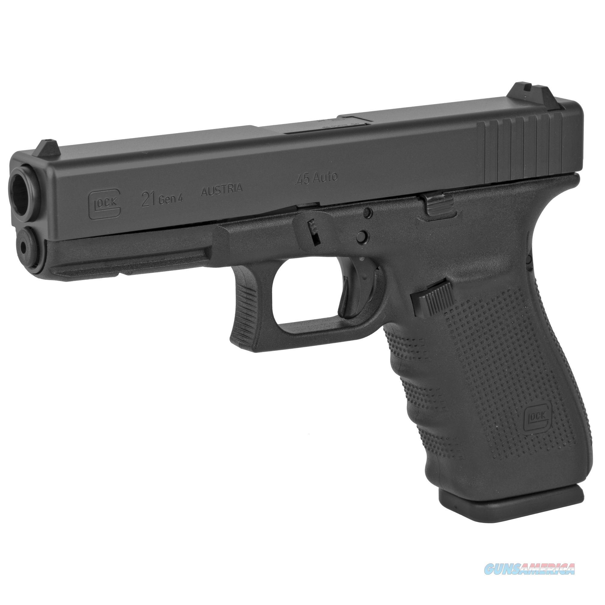 Glock 21 Gen4 .45 ACP Pistol - New in Case  Guns > Pistols > Glock Pistols > 20/21