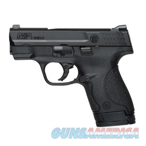 Smith & Wesson M&P Shield FS – 9mm – No Thumb Safety  Guns > Pistols > Smith & Wesson Pistols - Autos > Polymer Frame