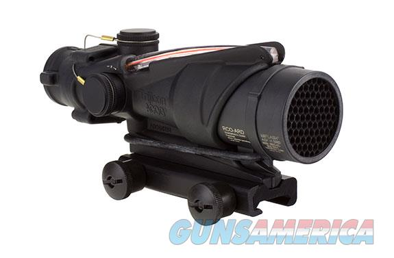 Trijicon ACOG 4x32 BAC Rifle Combat Optic (RCO) Scope with Red Chevron Reticle for the USMC's M4 and M4A1 with Thumbscrew Mount  Non-Guns > Scopes/Mounts/Rings & Optics > Tactical Scopes > Other Head-Up Optics