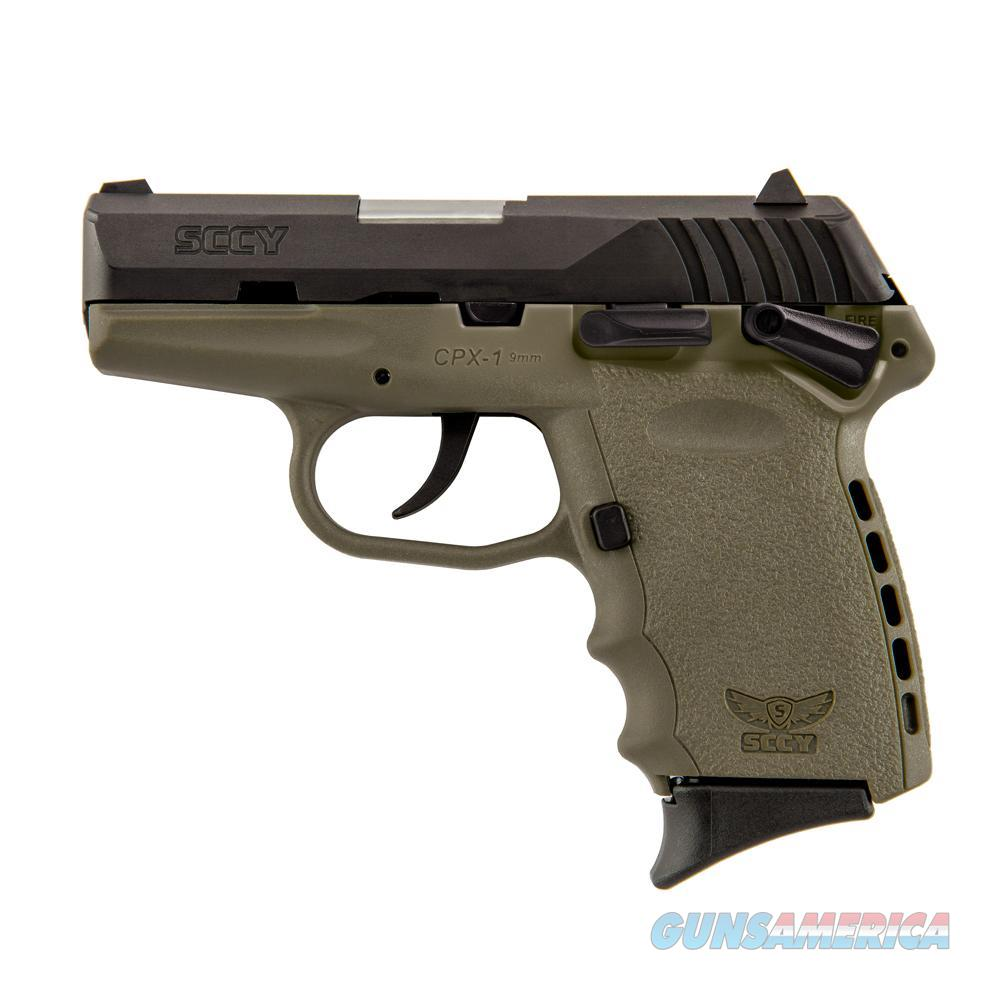SCCY CPX-1 9mm Auto Pistol – Dark Earth/Black - New in Box  Guns > Pistols > SCCY Pistols > CPX1