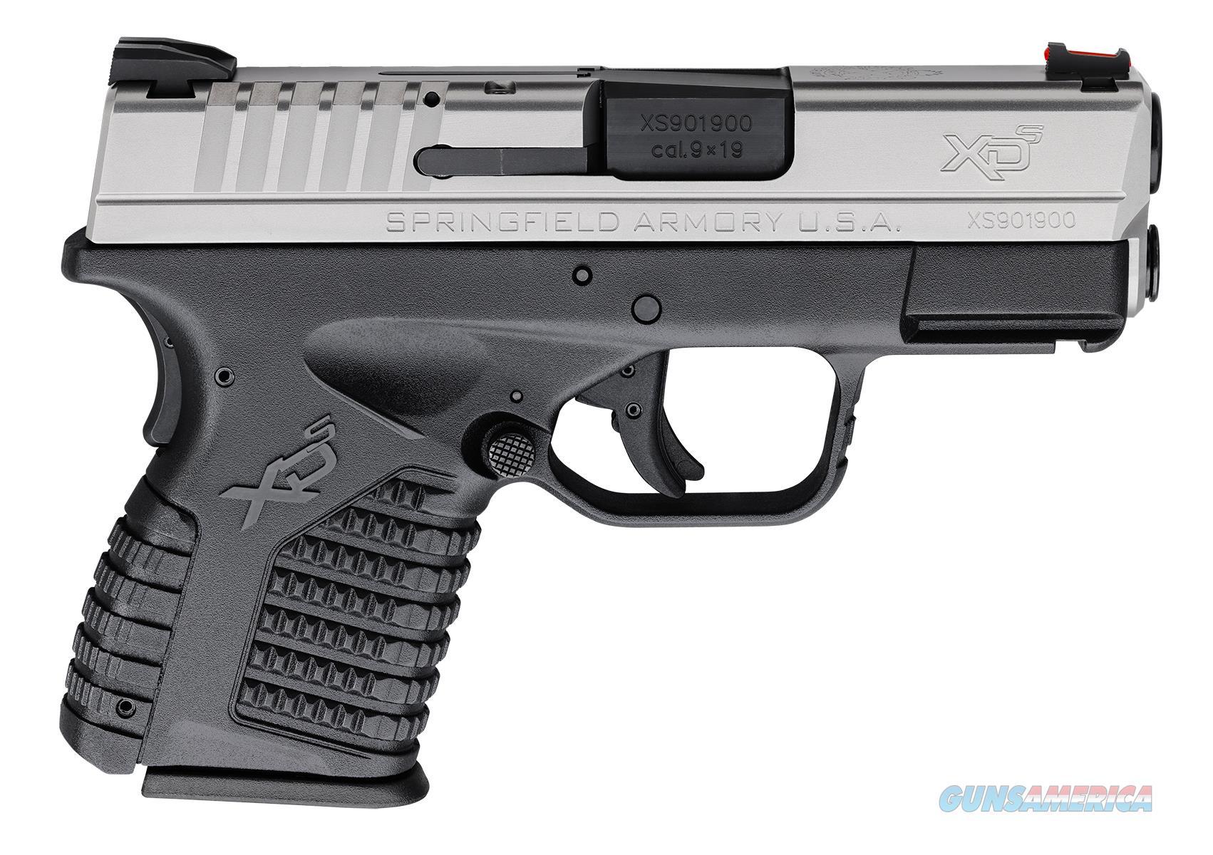 "Springfield XD-S 9mm 3.3"" 7+1/8+1 - New in Case  Guns > Pistols > Springfield Armory Pistols > XD-S"