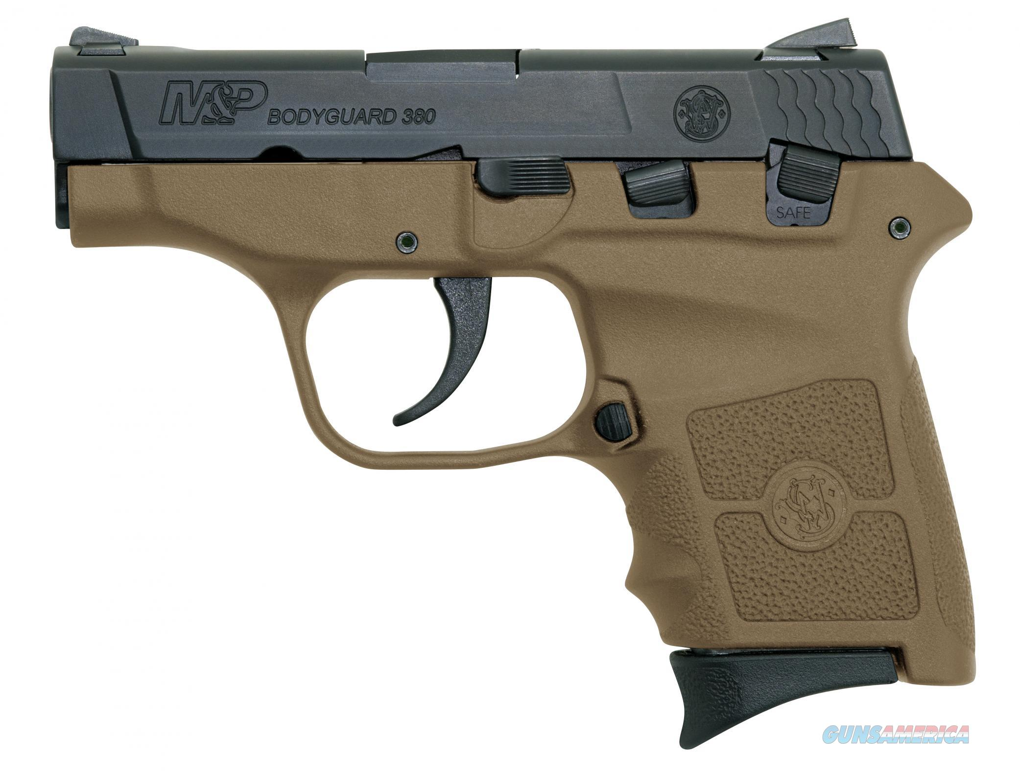 "Smith & Wesson Bodyguard 380 2.75"" 6+1, FDE - New in Box  Guns > Pistols > Smith & Wesson Pistols - Autos > Polymer Frame"