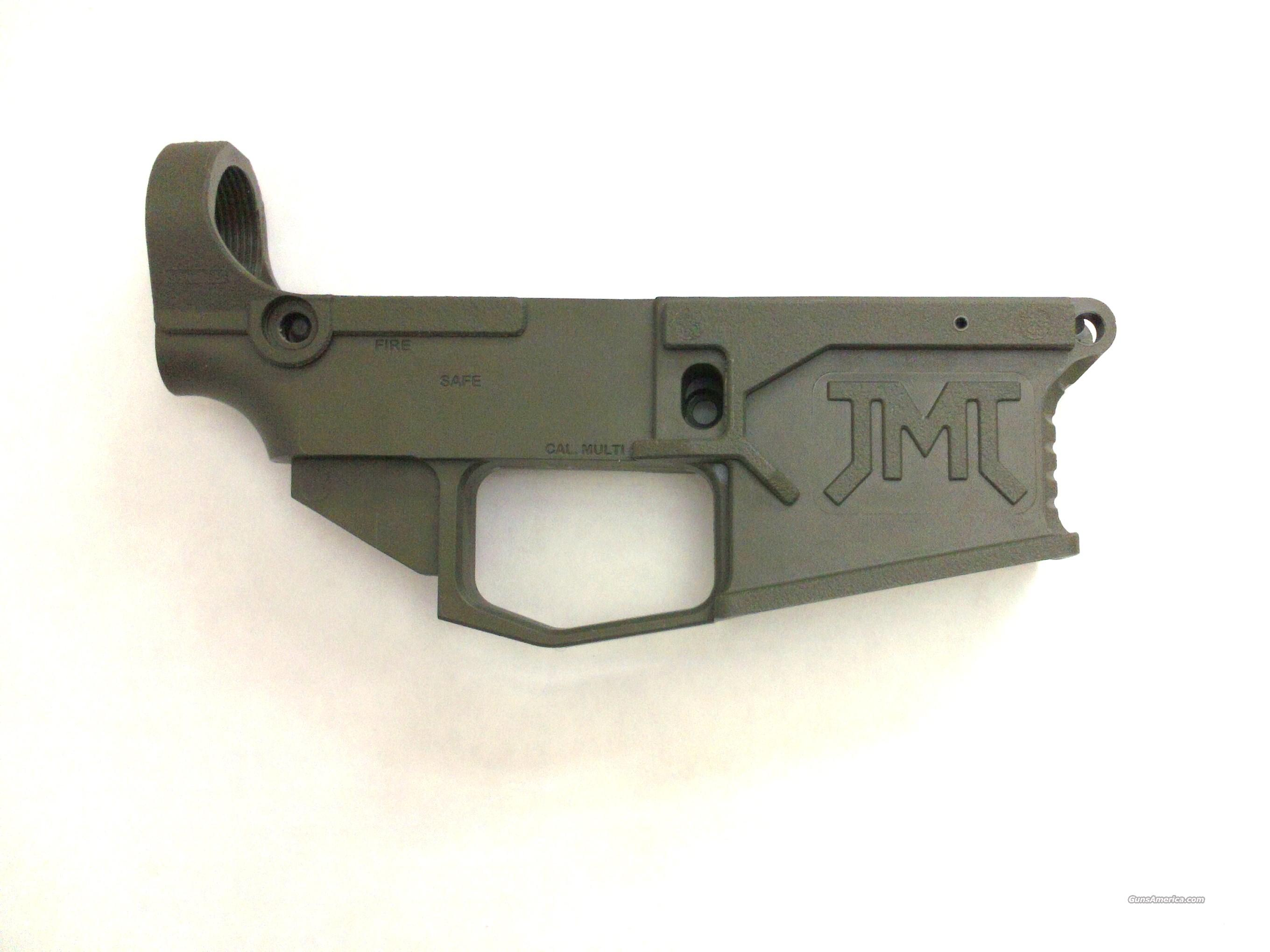 Polymer 80% AR15 Lower Receiver - Olive Drab  Non-Guns > Gun Parts > M16-AR15