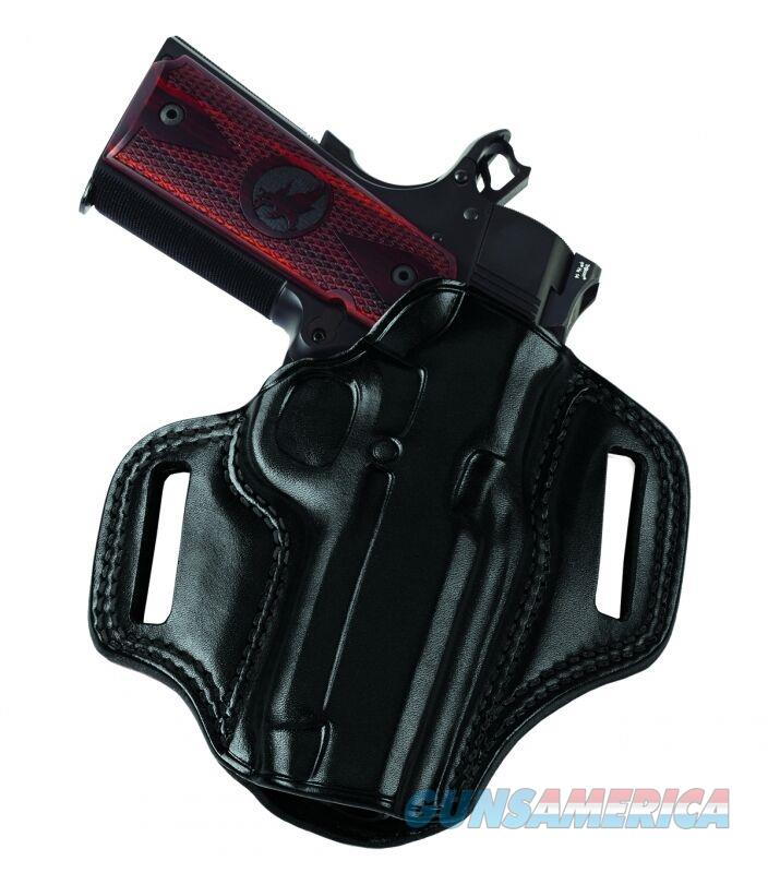 Galco CM226B Combat Master Belt Holster, Black – Glock 19/23/32/36, Right Draw  Non-Guns > Holsters and Gunleather > Concealed Carry