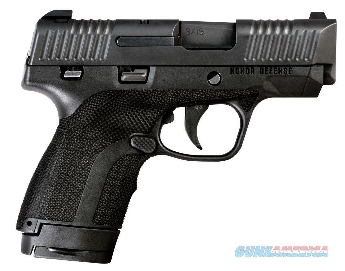 "Honor Defense Honor Guard Sub-Compact 9mm +P 3.2"" 7+1/8+1 - New in Box  Guns > Pistols > Honor Defense Pistols"