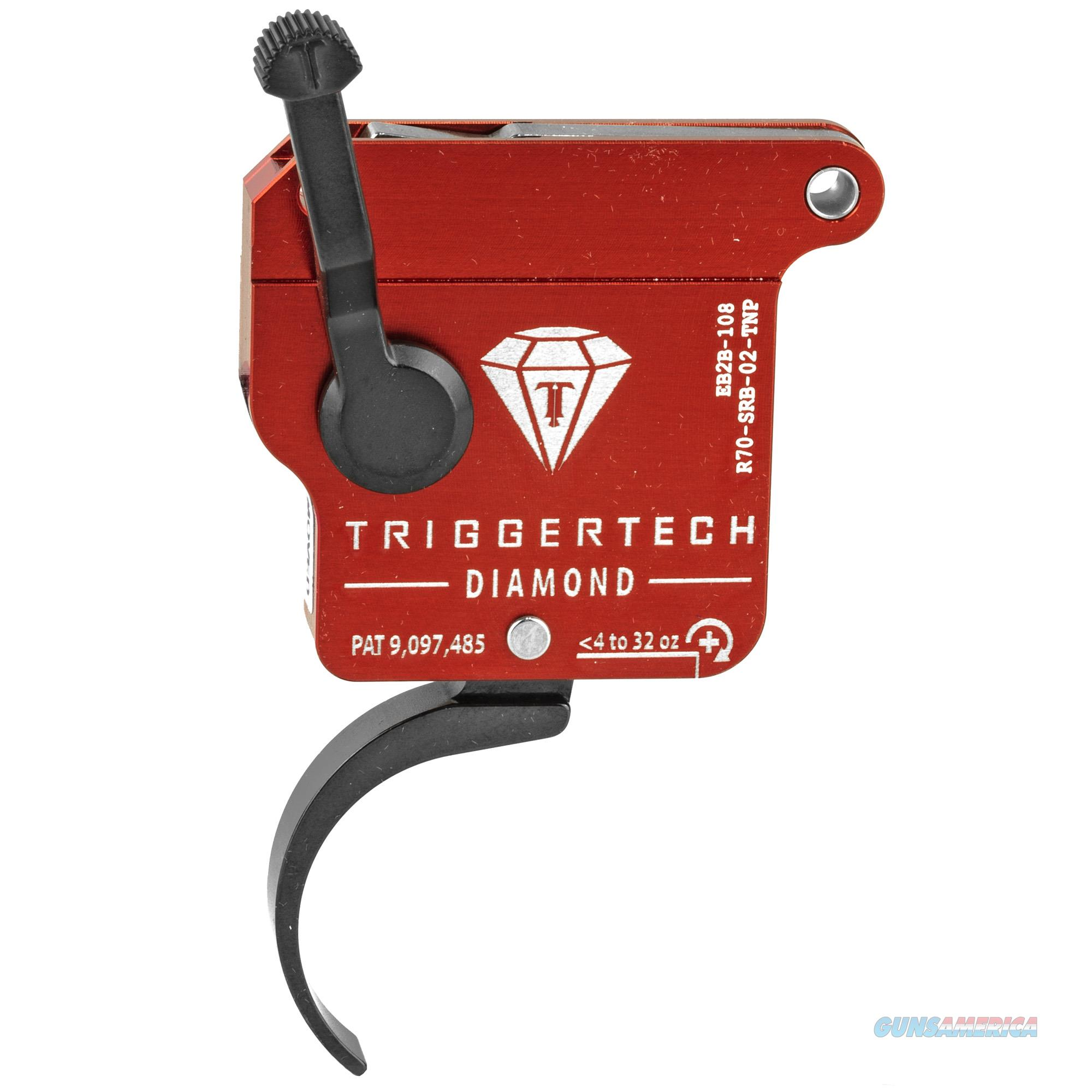 TriggerTech R70SRB02TNP Diamond Without Bolt Release Remington 700 Black Single-Stage Pro Curved 0.30-2 lbs Right  Non-Guns > Gun Parts > Rifle/Accuracy/Sniper
