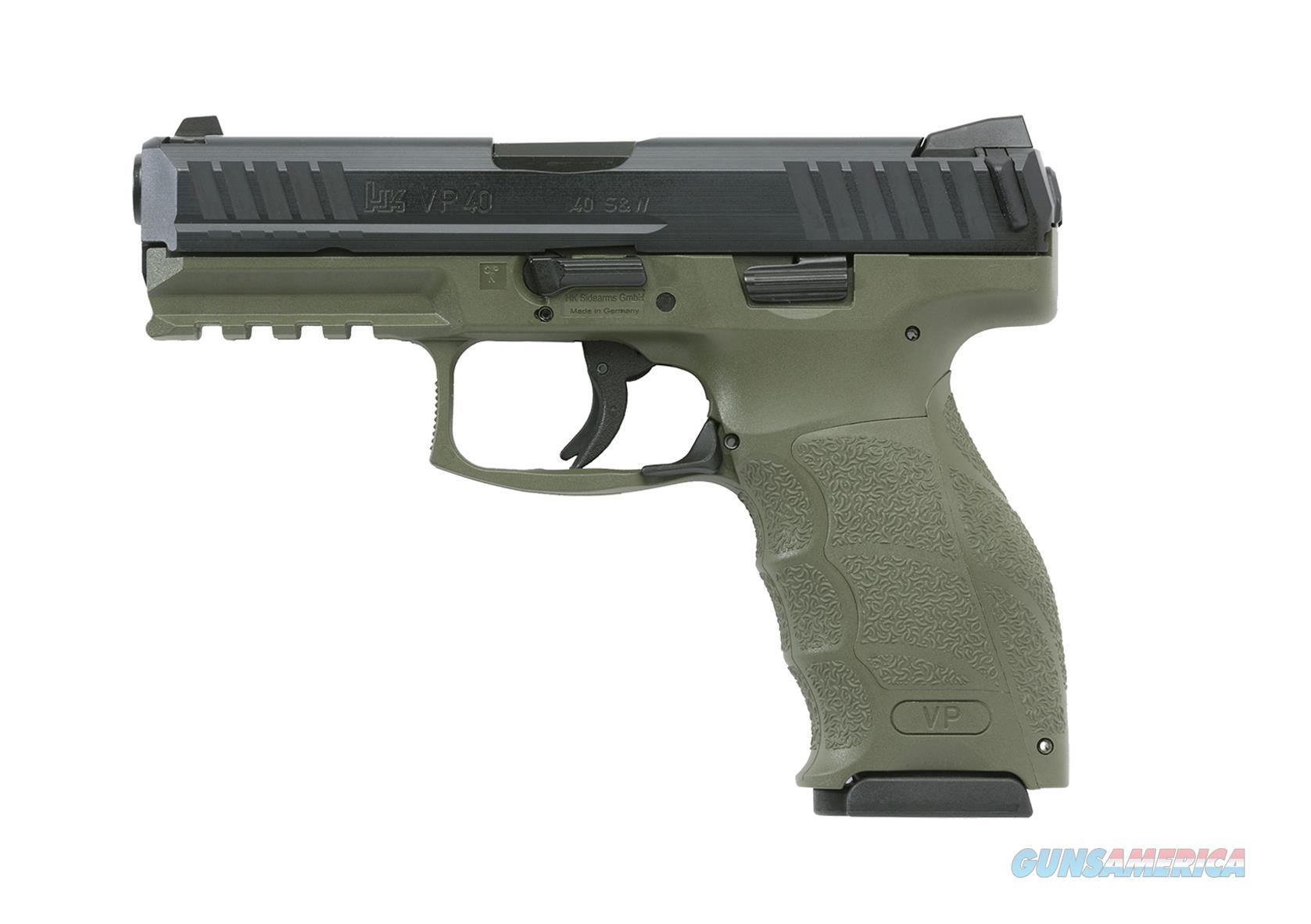 "HK VP9 9mm 4.09"" 15+1 OD Green - New in Case  Guns > Pistols > Heckler & Koch Pistols > Polymer Frame"