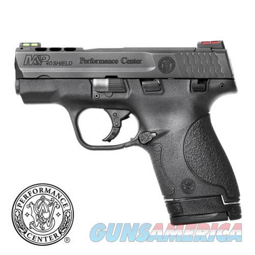 Smith & Wesson Performance Center Ported M&P 40 Shield - New in Box  Guns > Pistols > Smith & Wesson Pistols - Autos > Polymer Frame