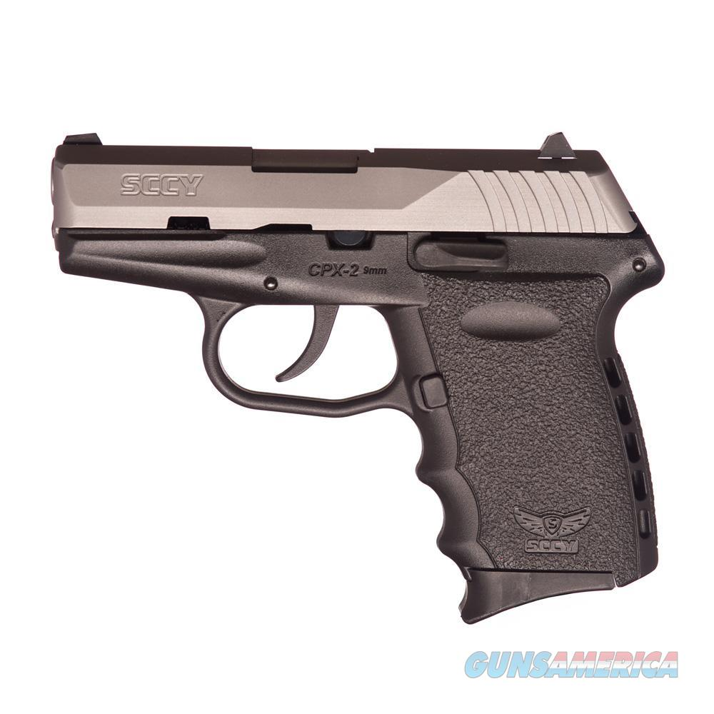 SCCY CPX-2 9mm Auto Pistol – Satin/Black - New in Box  Guns > Pistols > SCCY Pistols > CPX2