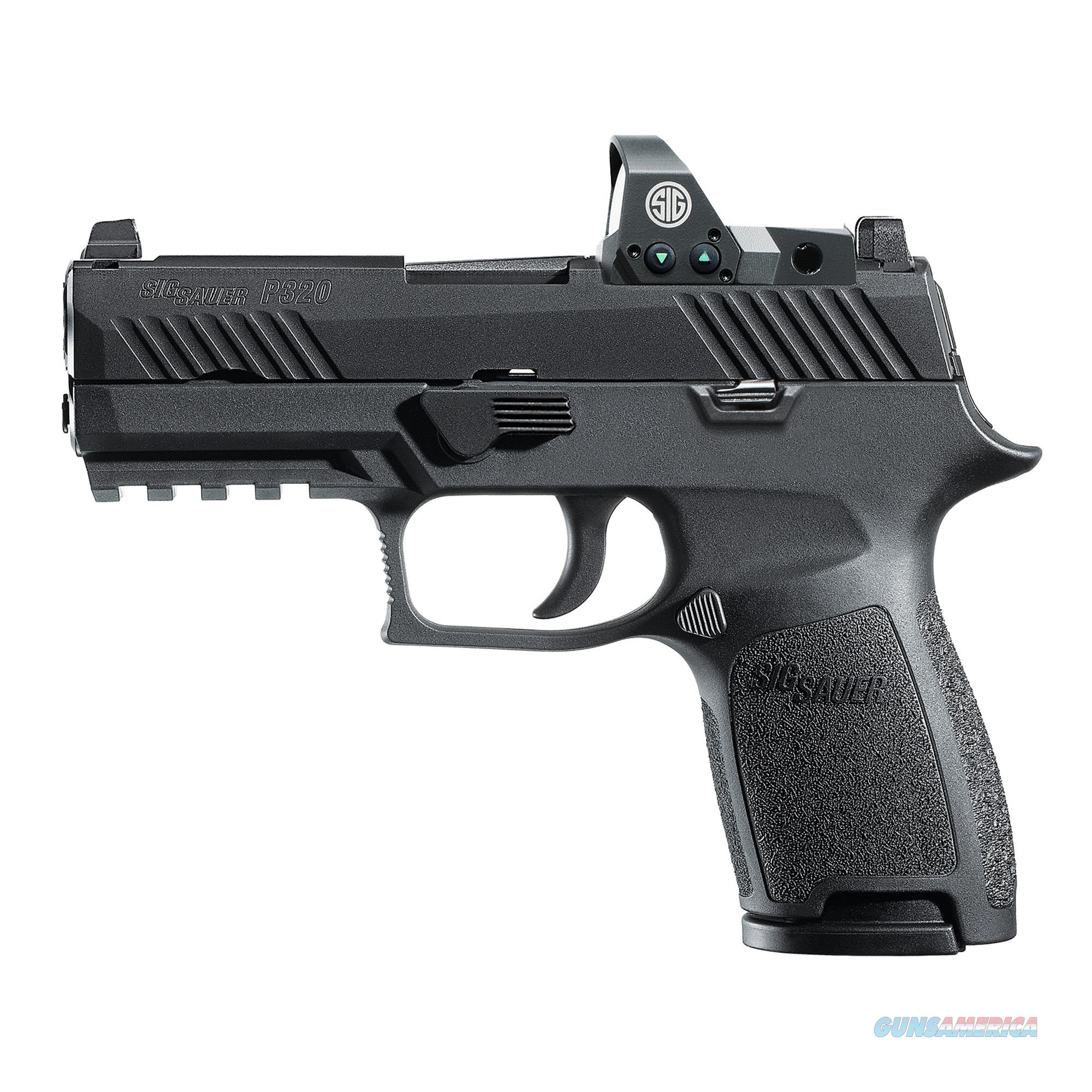 """Sig Sauer P320 Compact RX 9mm 3.9"""" 15+1 - New in Case!  Guns > Pistols > Sig - Sauer/Sigarms Pistols > P320"""