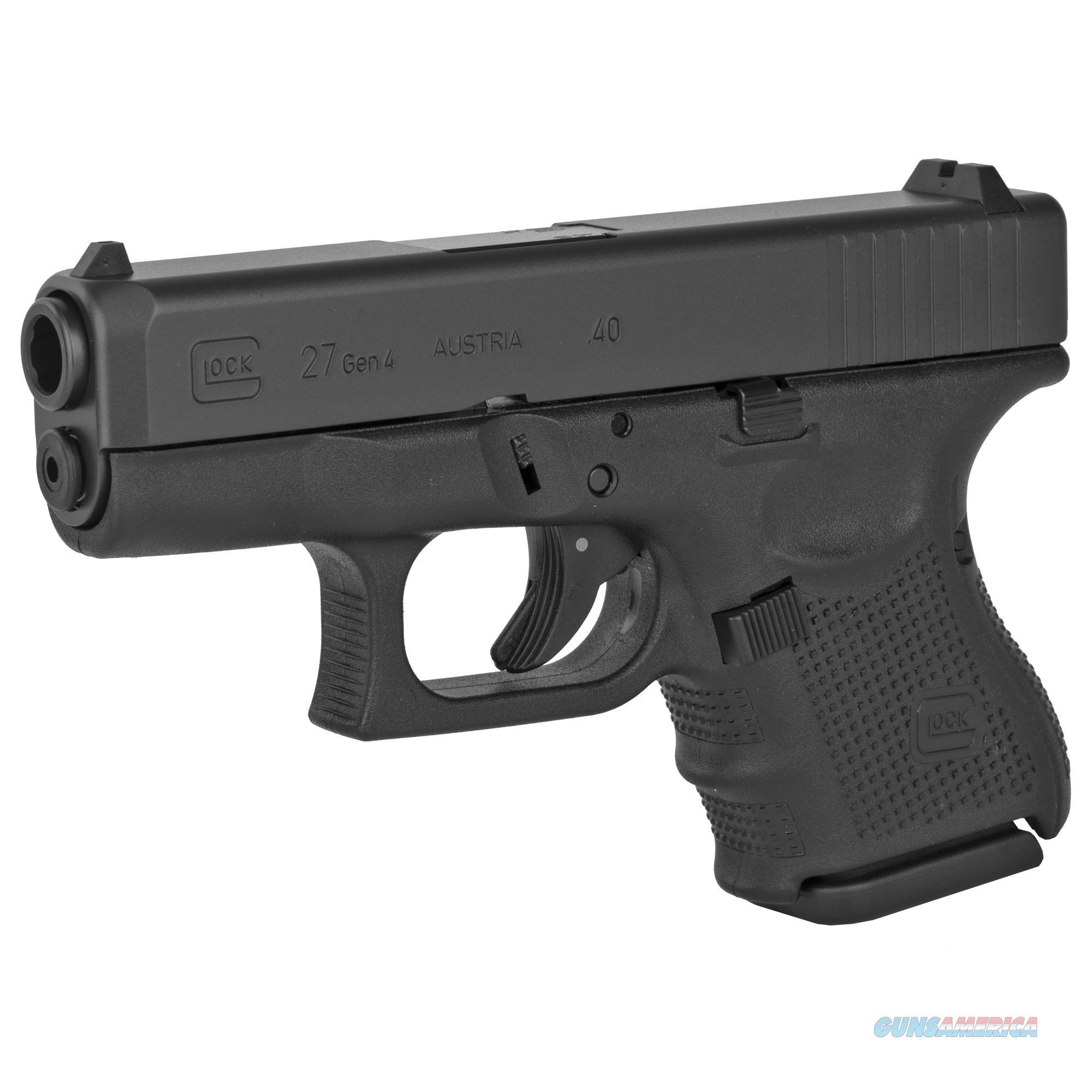 """Glock G27 Gen4 .40 S&W 3.42"""" 9+1 - New in Case!  Guns > Pistols > Glock Pistols > 26/27"""