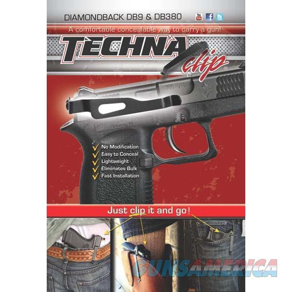 Techna Clip DBBR Gun Belt Clip – Diamondback DB9/DB380, Right Side  Non-Guns > Holsters and Gunleather > Concealed Carry