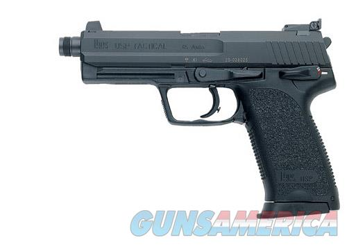 "HK USP Tactical .45ACP 5.09"" Threaded 12+1 - New in Box  Guns > Pistols > Heckler & Koch Pistols > Polymer Frame"