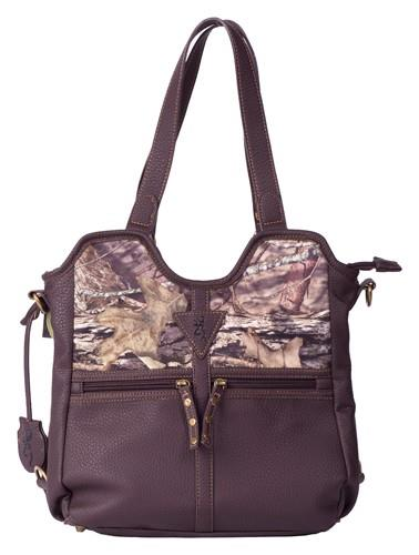 Browning Conceal and Carry Handbag – Medium, Brown/Country Camo  Non-Guns > Holsters and Gunleather > Concealed Carry