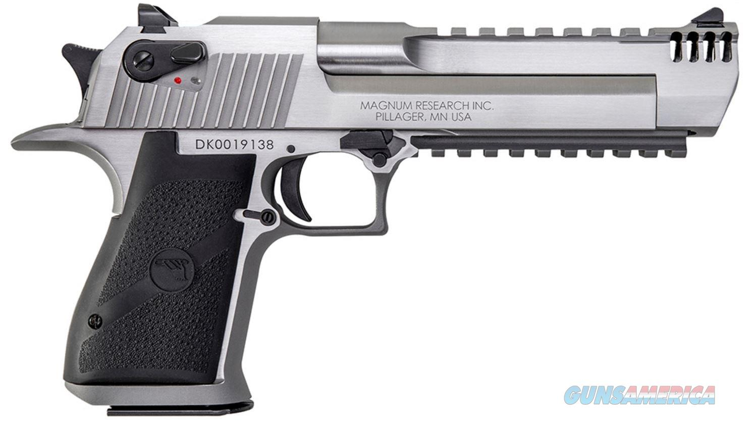 "Magnum Research Desert Eagle MarkXIX .50 AE 6"" 7+1, Stainless - New in Case  Guns > Pistols > Magnum Research Pistols"