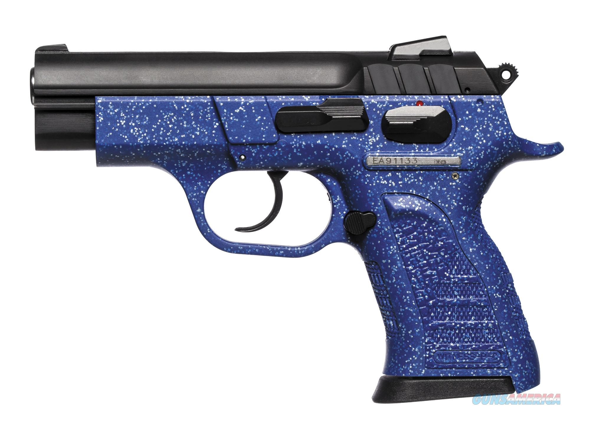 Witness Pavona Polymer Compact 9mm Pistol - Sapphire  Guns > Pistols > EAA Pistols > Other