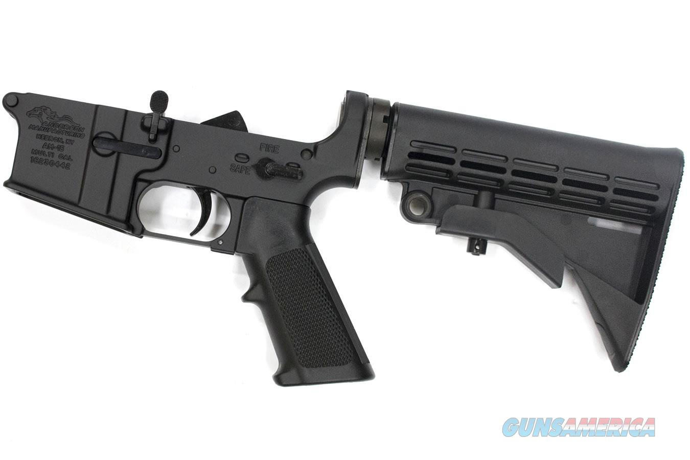 Anderson Complete AR15 Multi Cal Lower, Open Trigger  Guns > Rifles > AR-15 Rifles - Small Manufacturers > Lower Only