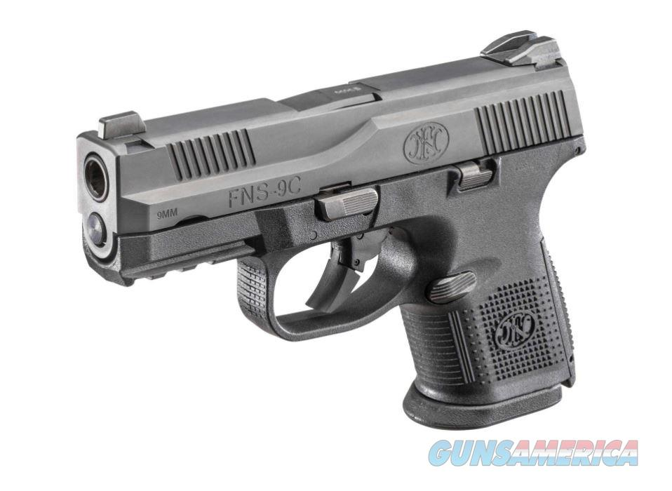"FNH USA FNS 9 Compact 9mm 3.6"" 17+1 - New in Case  Guns > Pistols > FNH - Fabrique Nationale (FN) Pistols > FNS"