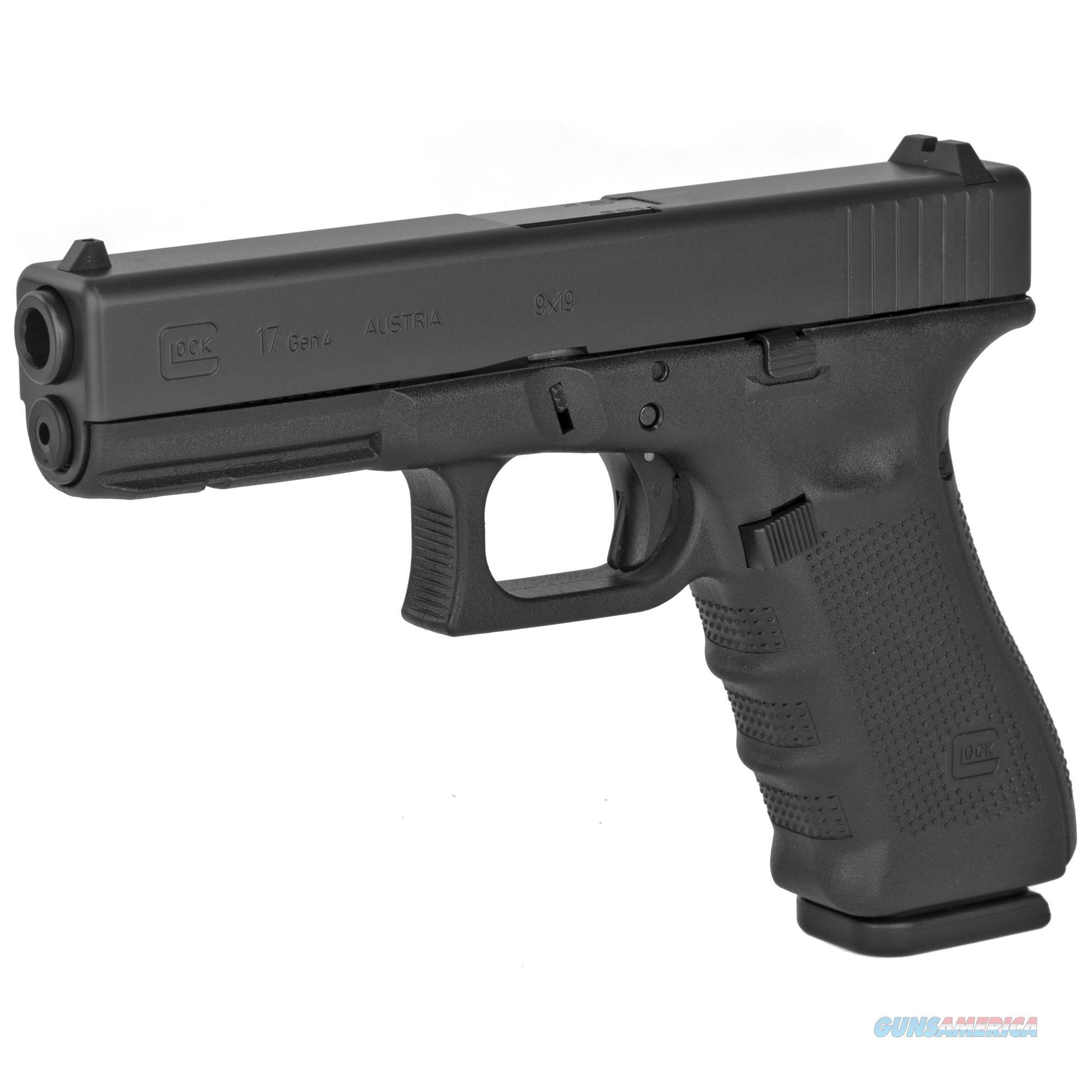 Glock 17 Gen4 9mm Pistol  - New in Box  Guns > Pistols > Glock Pistols > 17