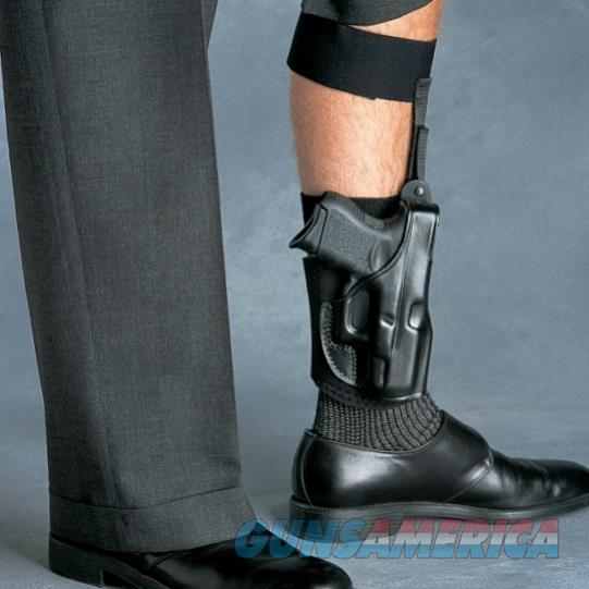 Galco AG652B Ankle Glove Ankle Holster – S&W M&P Shield, Right Draw  Non-Guns > Holsters and Gunleather > Concealed Carry