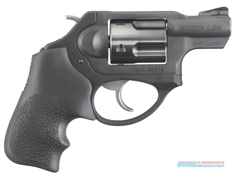 "Ruger LCRx 9mm Luger 1.87"" 5 rd Hogue Tamer Grip  Guns > Pistols > Ruger Double Action Revolver > LCR"