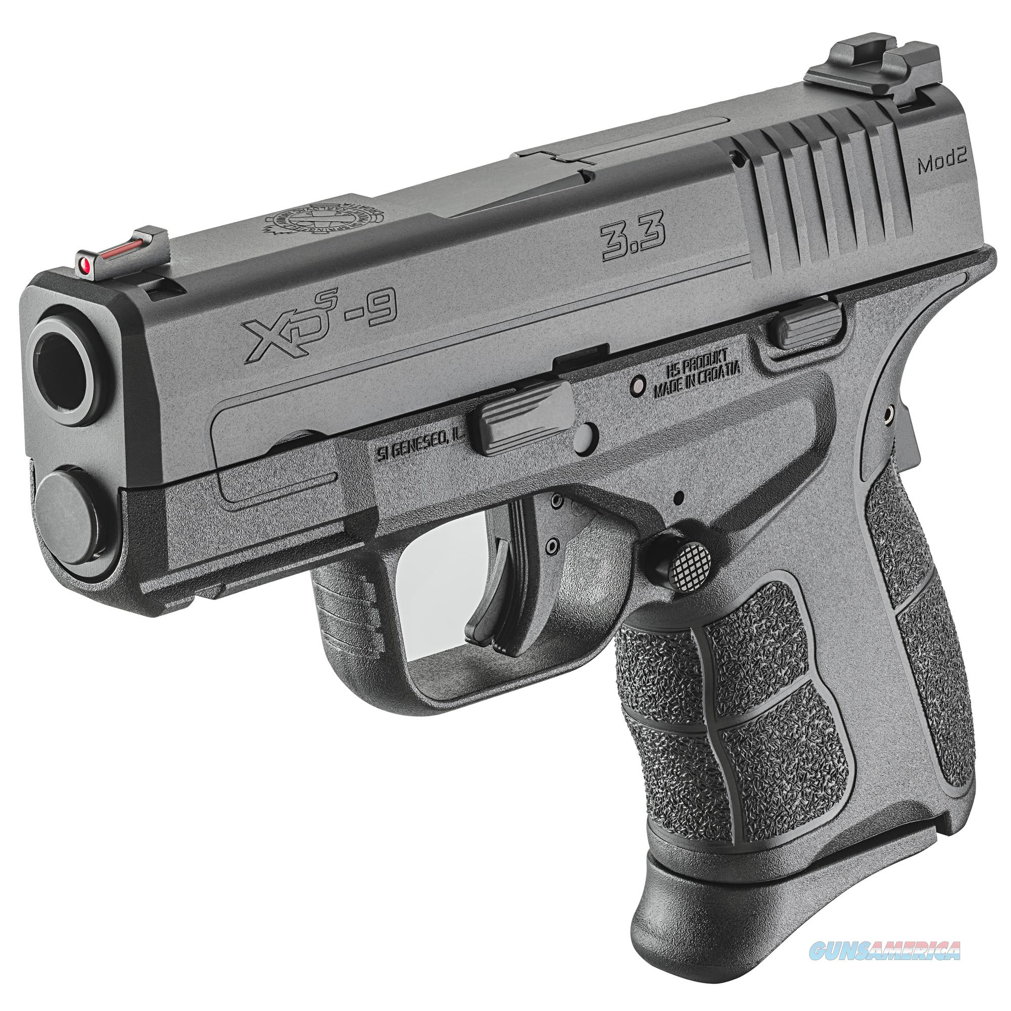 "Springfield XD-S Mod.2 9mm3.3"" 7+1/9+1 - New in Case!  Guns > Pistols > Springfield Armory Pistols > XD-S"