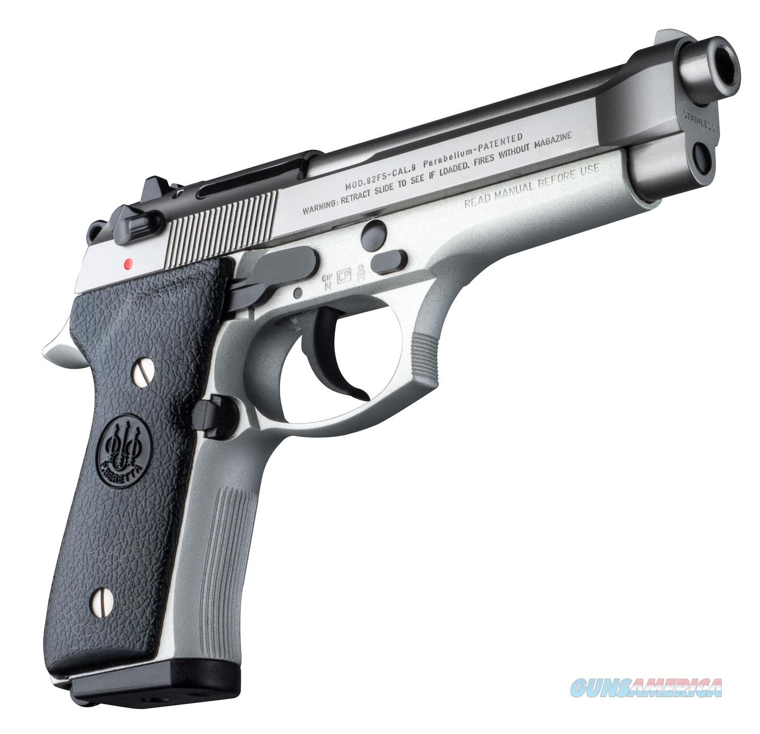 "Beretta 92FS Inox 9mm 4.9"" 15+1 - New in Case  Guns > Pistols > Beretta Pistols > Model 92 Series"