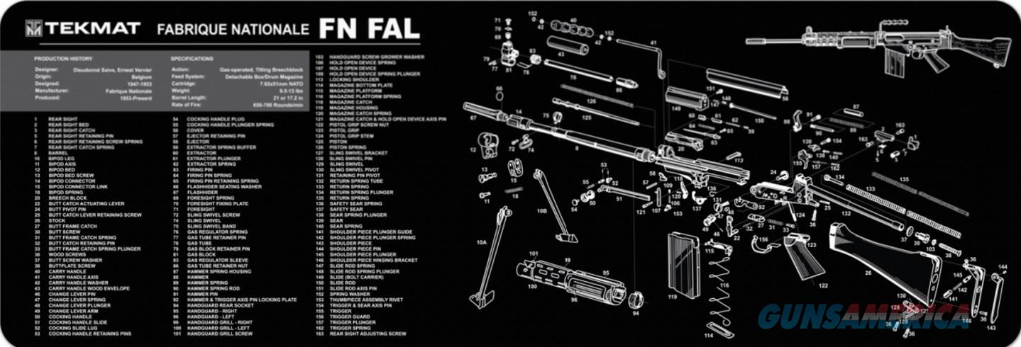 TEKMAT Armorers Bench Mat – FN FAL  Non-Guns > Gunsmith Tools/Supplies