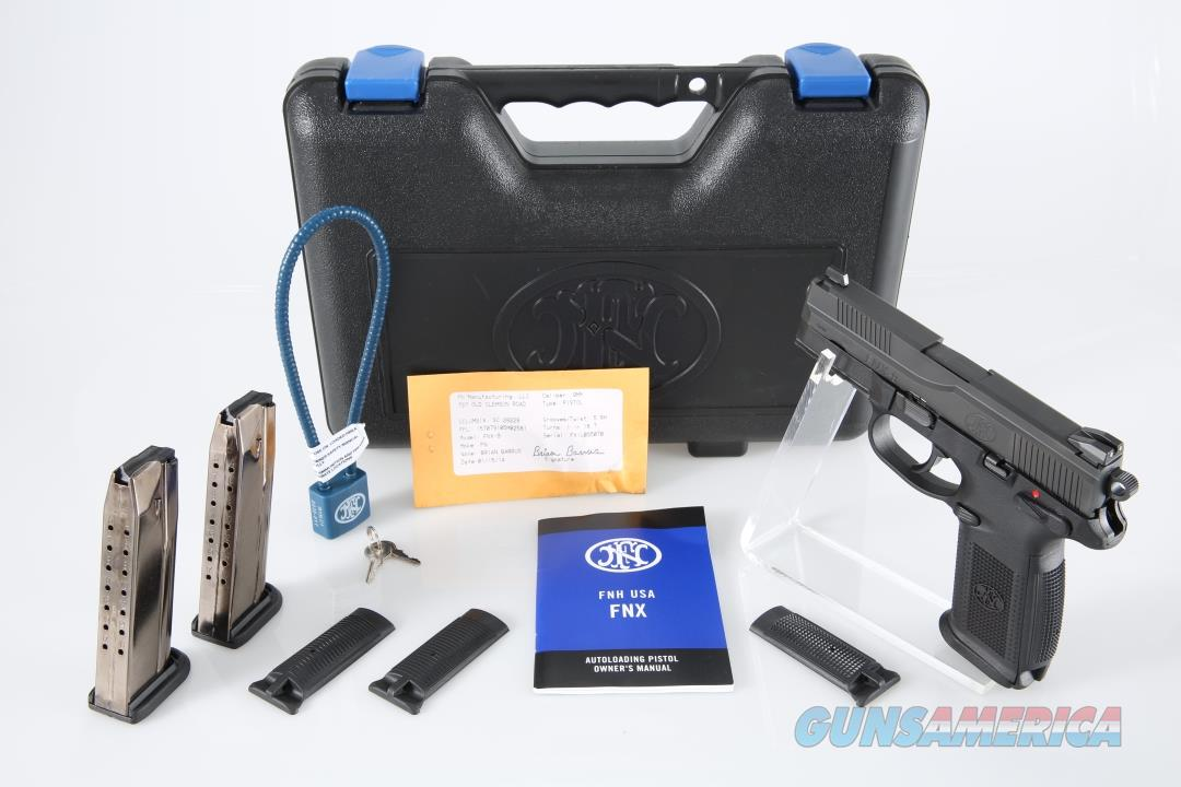 "FNH USA FNX-9 9mm 4"" 17+1 - New in Case  Guns > Pistols > FNH - Fabrique Nationale (FN) Pistols > FNX"