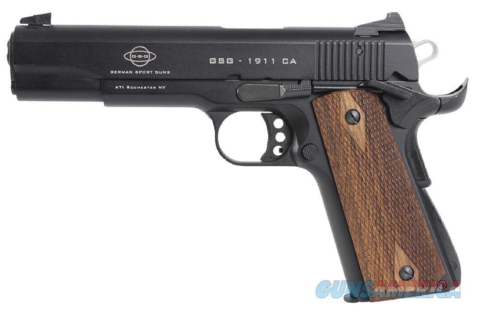"""GSG/ATI 1911 *CA Compliant* .22 LR 5"""" 10+1 Walnut Grip - New in Box!    Guns > Pistols > American Tactical Imports Pistols"""