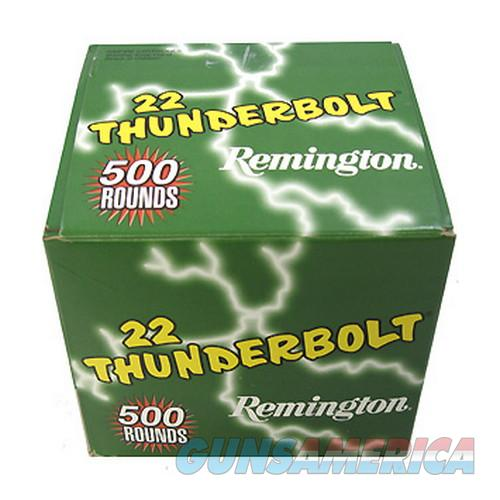 Remington Thunderbolt .22 LR – 500 Round Box  Non-Guns > Ammunition