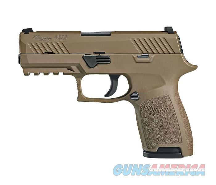 "Sig Sauer P320 Compact 9mm 3.9"" 15+1 - FDE - New in Case  Guns > Pistols > Sig - Sauer/Sigarms Pistols > P320"