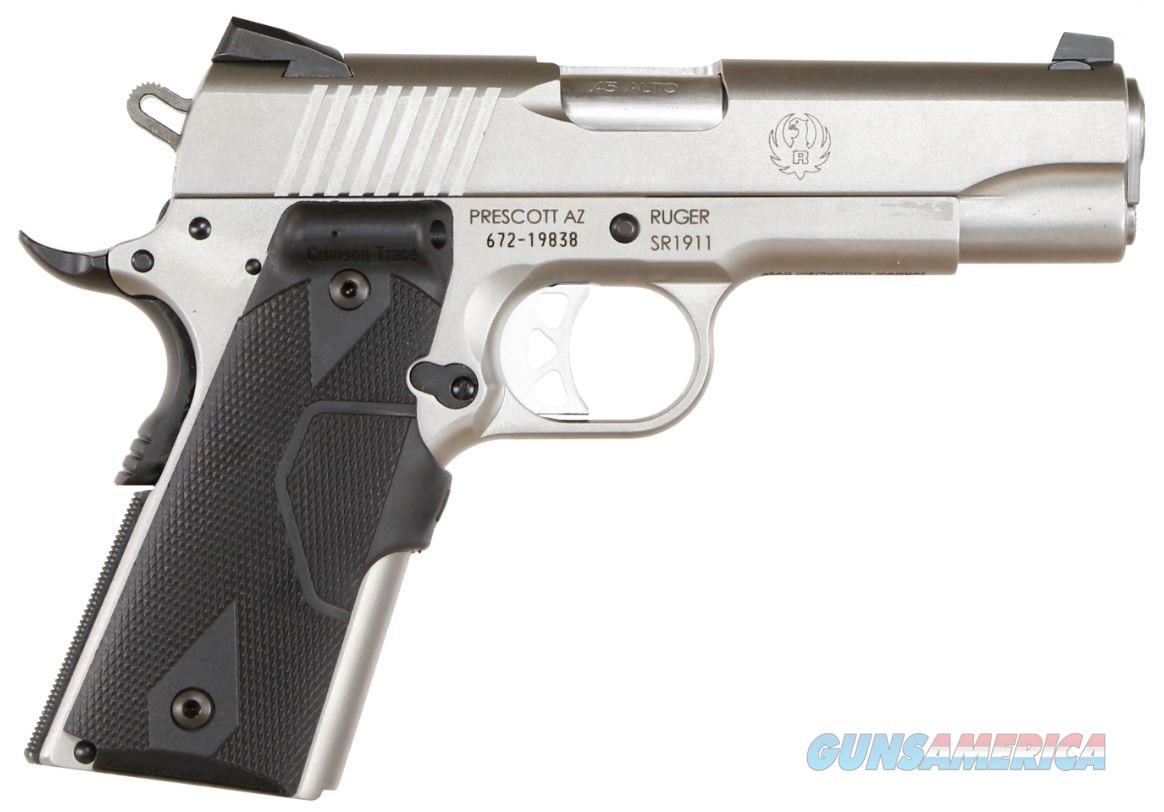"Ruger SR1911 Commander . 45 ACP 4.25"" 7+1 with Crimson Trace Grips - New in Box  Guns > Pistols > Ruger Semi-Auto Pistols > 1911"