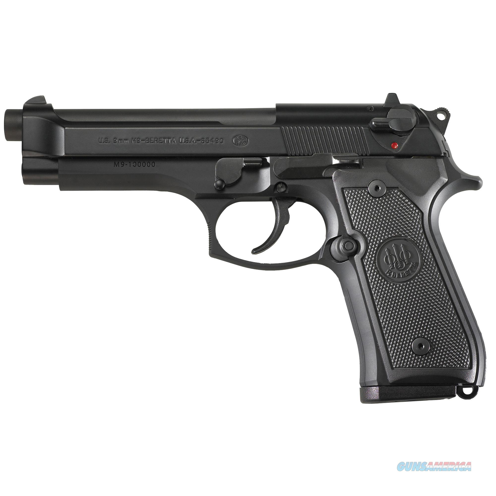 "Beretta M9 9mm 15+1 4.9"" - New in Box  Guns > Pistols > Beretta Pistols > M9"