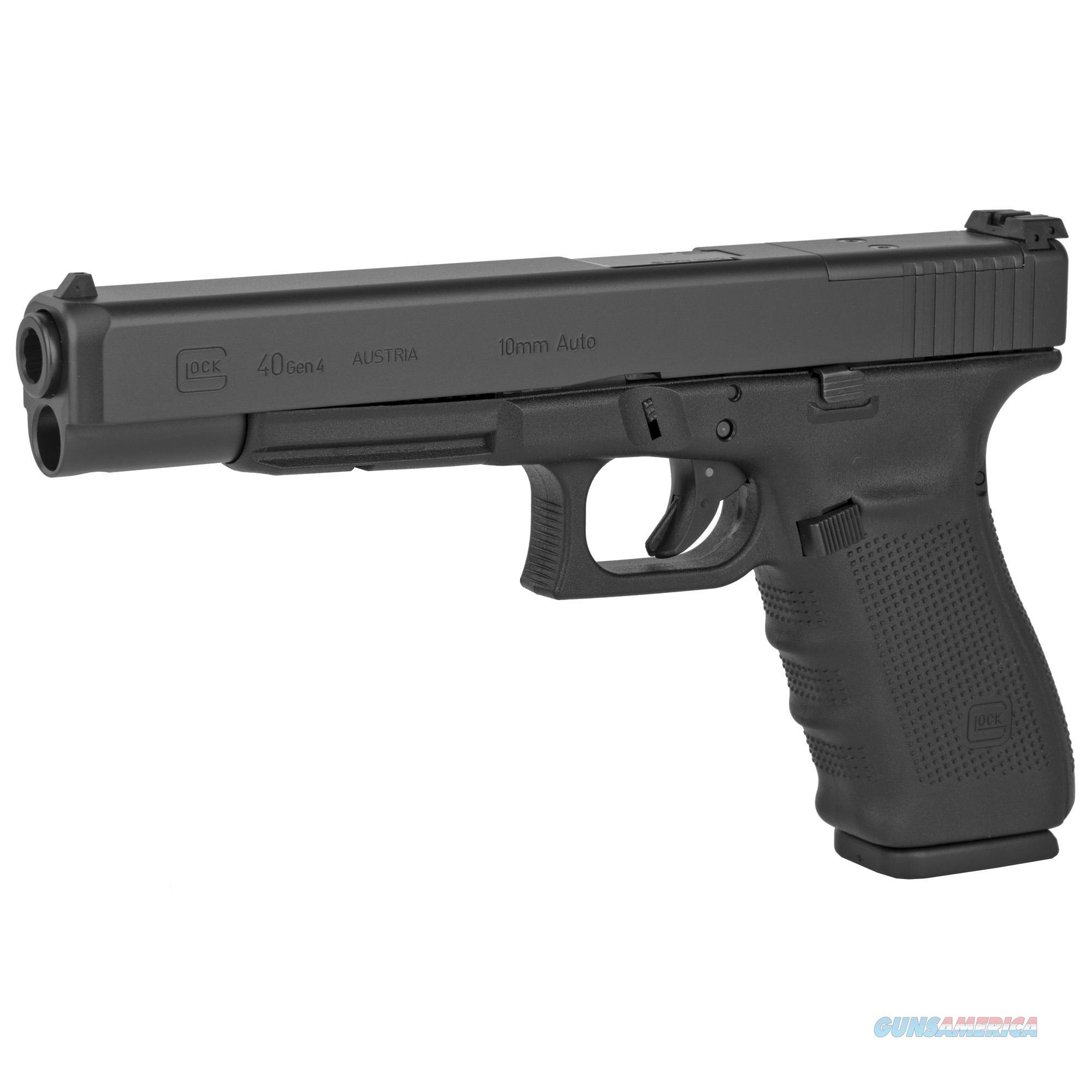 "Glock G40 Gen4 MOS 10mm 6.02"" 15+1 - New in Case!  Guns > Pistols > Glock Pistols > 40"