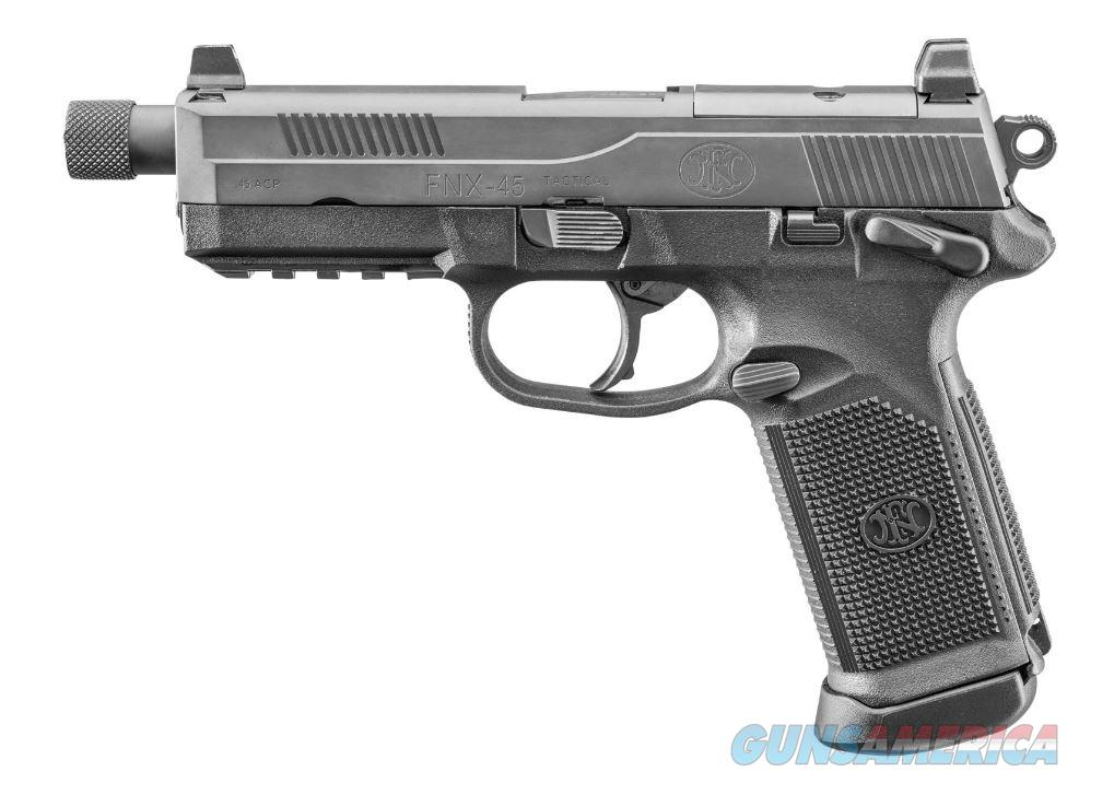 "FN FNX-45 Tactical 45 ACP 5.3"" 15+1 - New in Box  Guns > Pistols > FNH - Fabrique Nationale (FN) Pistols > FNX"