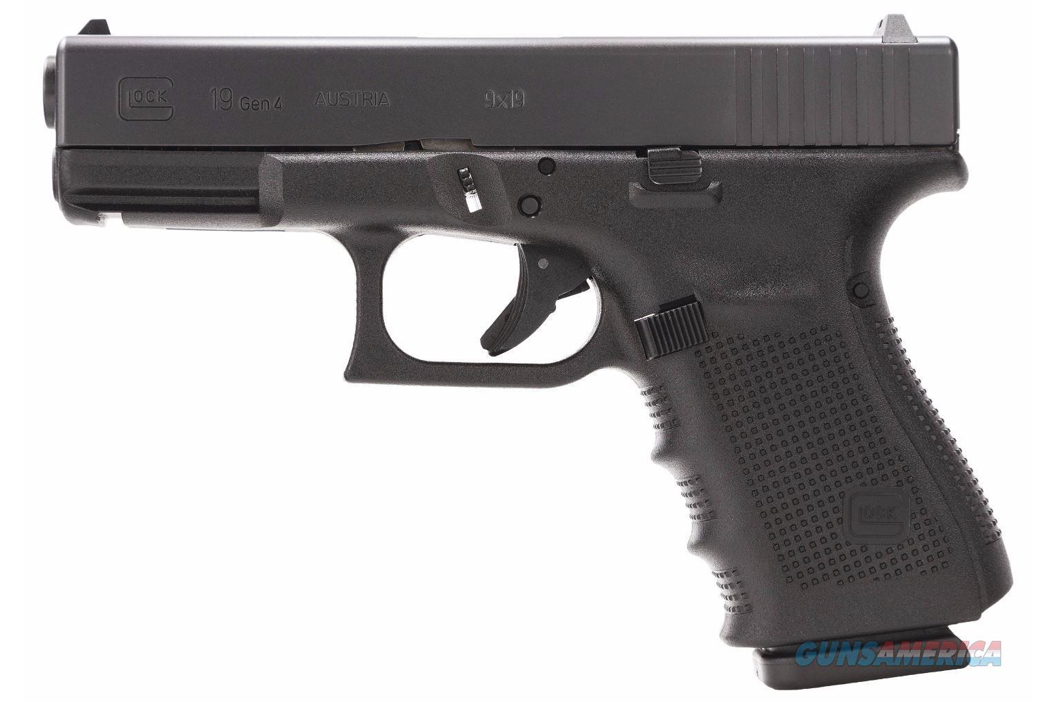 Glock 19 Gen4 9MM Pistol - New in Case for sale