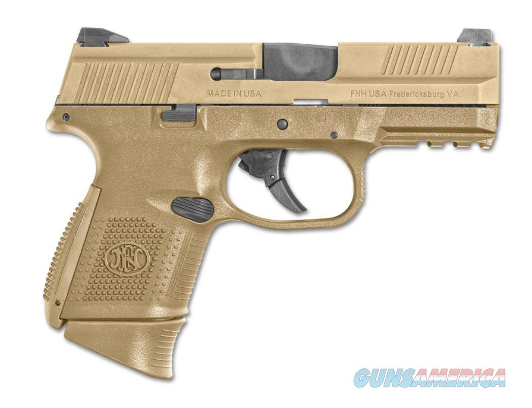 "FNH 67993 FNS 9mm 3.6"" 12+1/17+1 FDE - New in Box  Guns > Pistols > FNH - Fabrique Nationale (FN) Pistols > FNS"