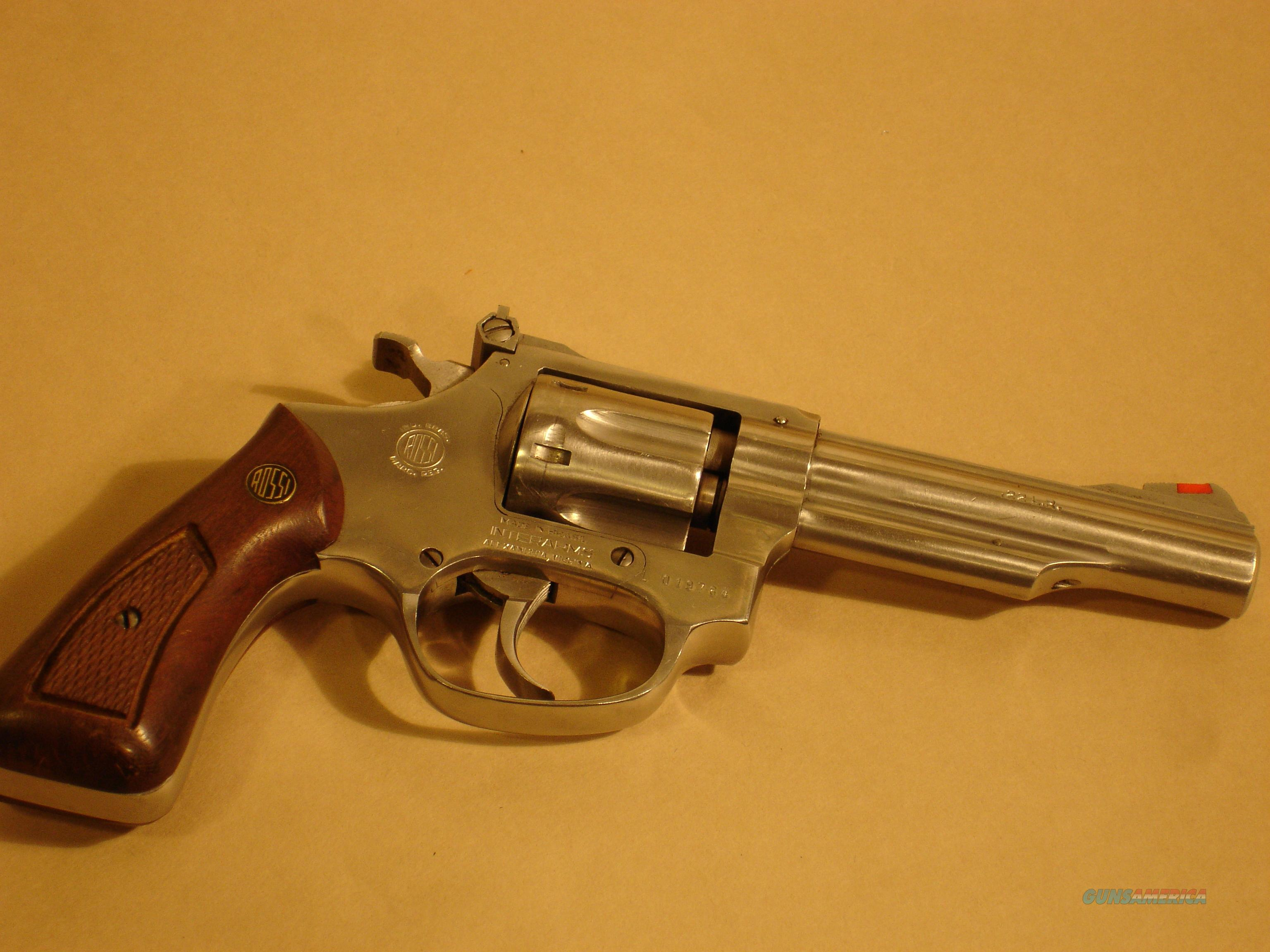 Rossi Revolver Model #511 4 inch StainlessSteel Excellent  Guns > Pistols > Rossi Revolvers
