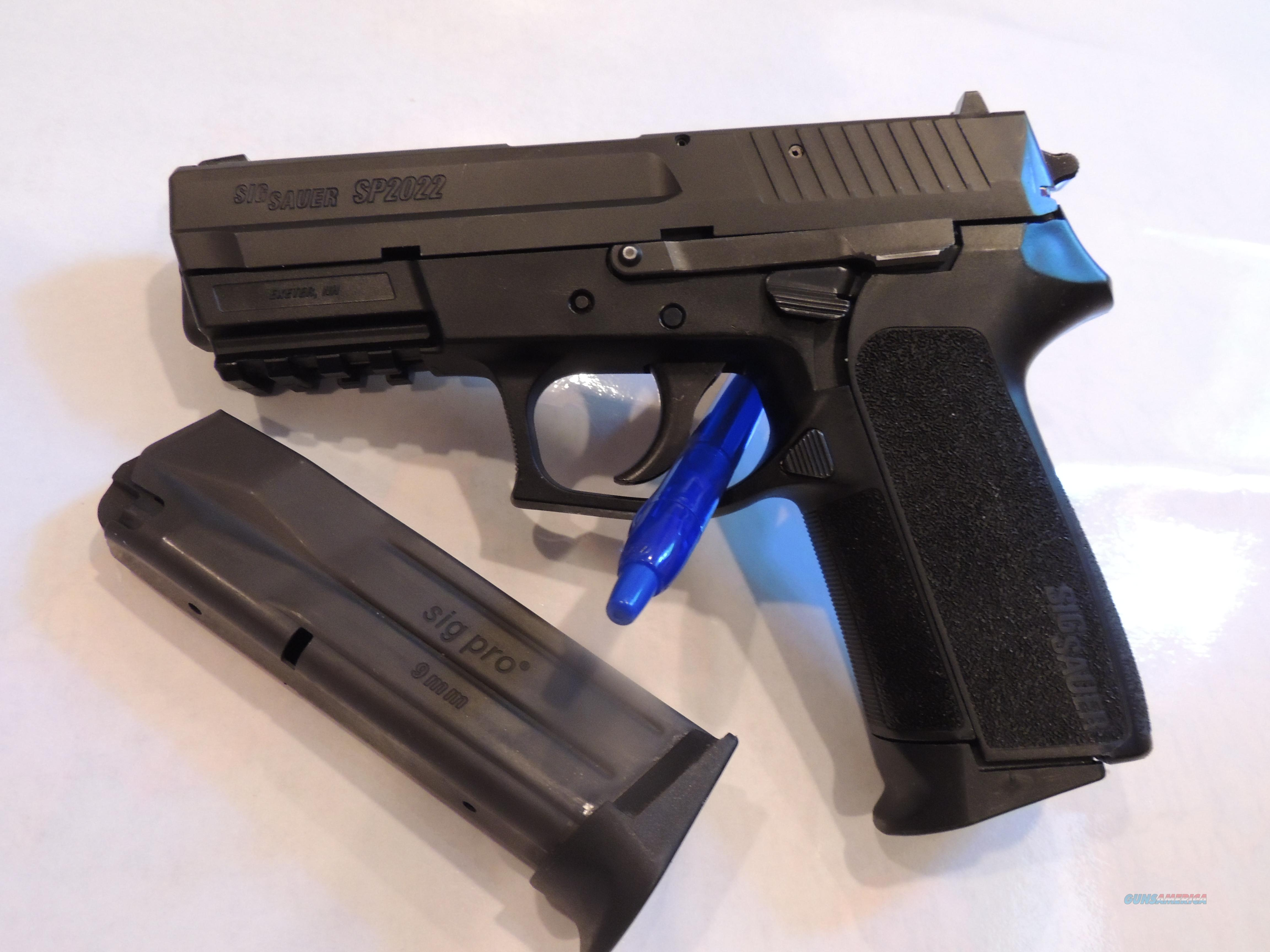 SIG SP2022 Nitron - Priced to Sell!  Guns > Pistols > Sig - Sauer/Sigarms Pistols > 2022