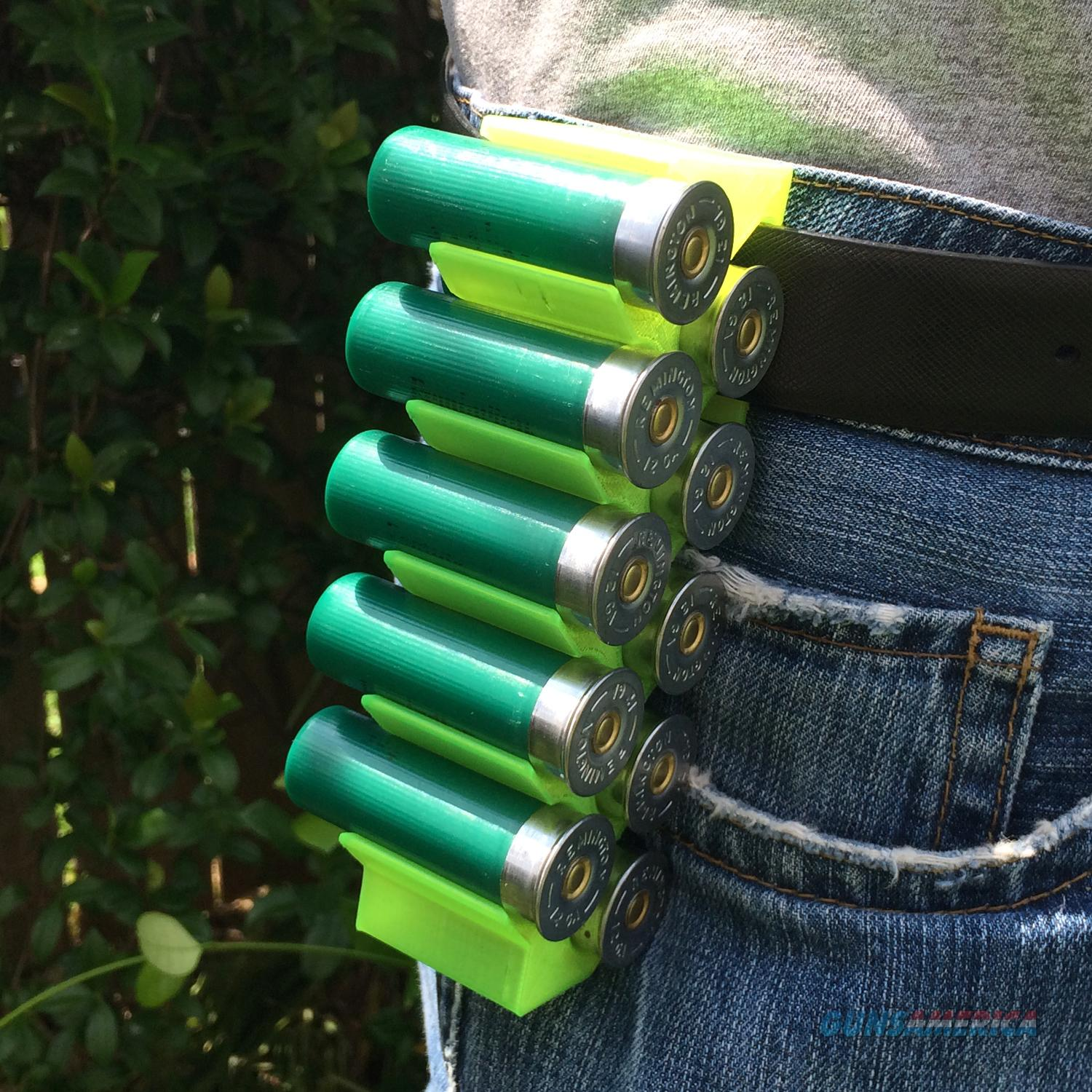 Yellow MAKERSHOT 12 GAUGE SHOTSHELL AMMO CARRIER  Non-Guns > Shotgun Sports > Shell Bags