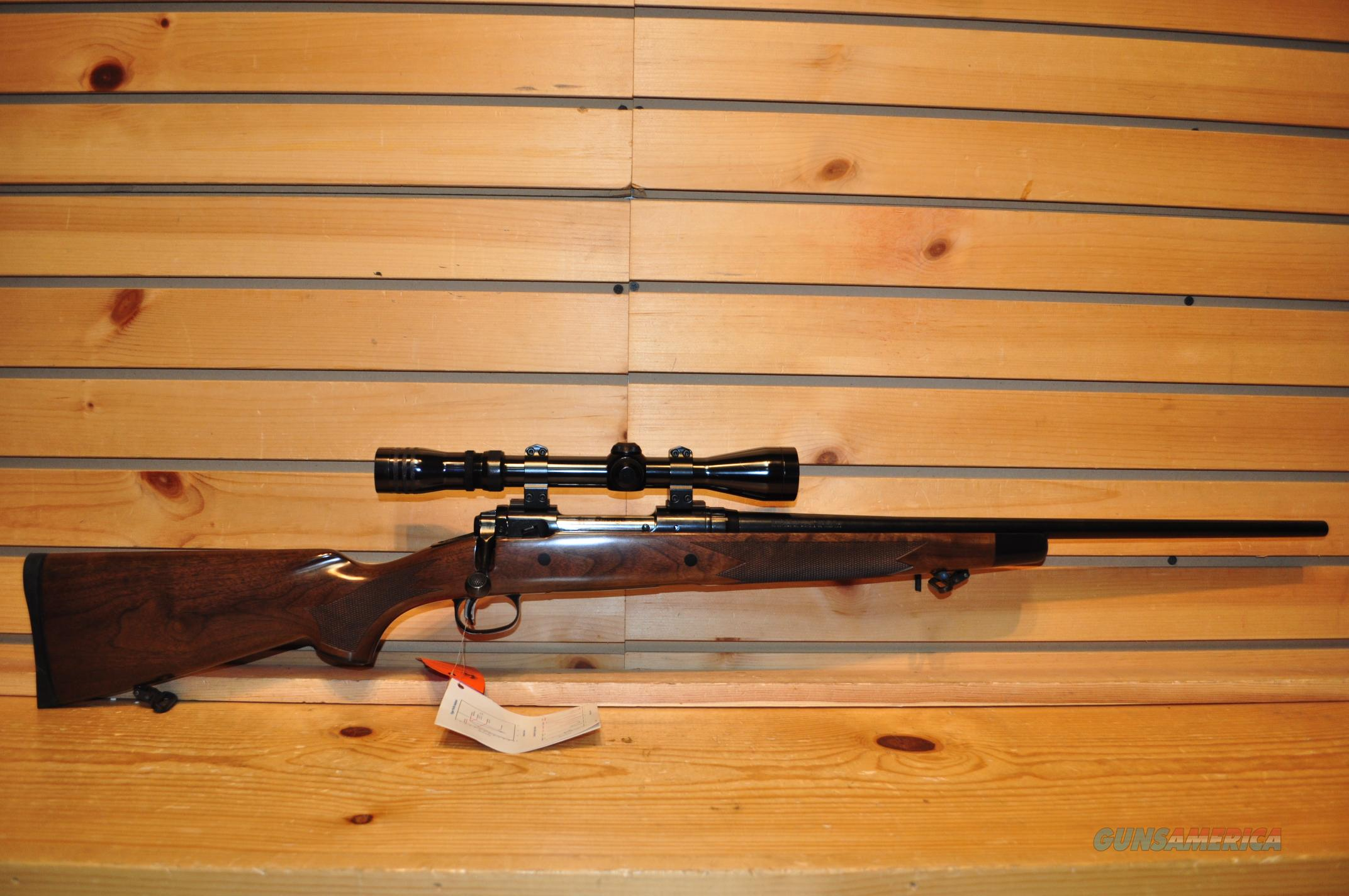 Savage Model 14 7mm-08 w/ Redfield 3-9 Scope  Guns > Rifles > Savage Rifles > Accutrigger Models > Sporting