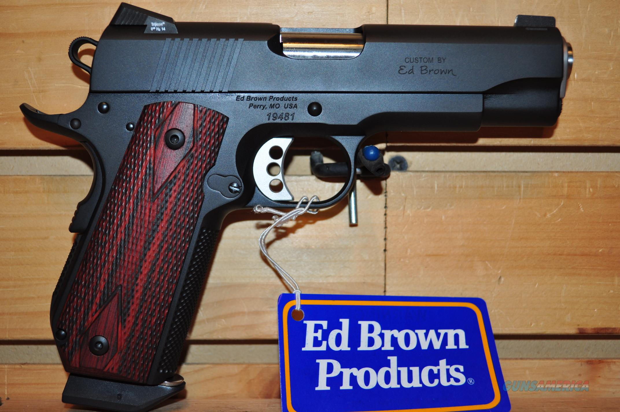 Ed Brown Limited Edition 38 Super Chain Link FREE SHIPPING  Guns > Pistols > Ed Brown Pistols