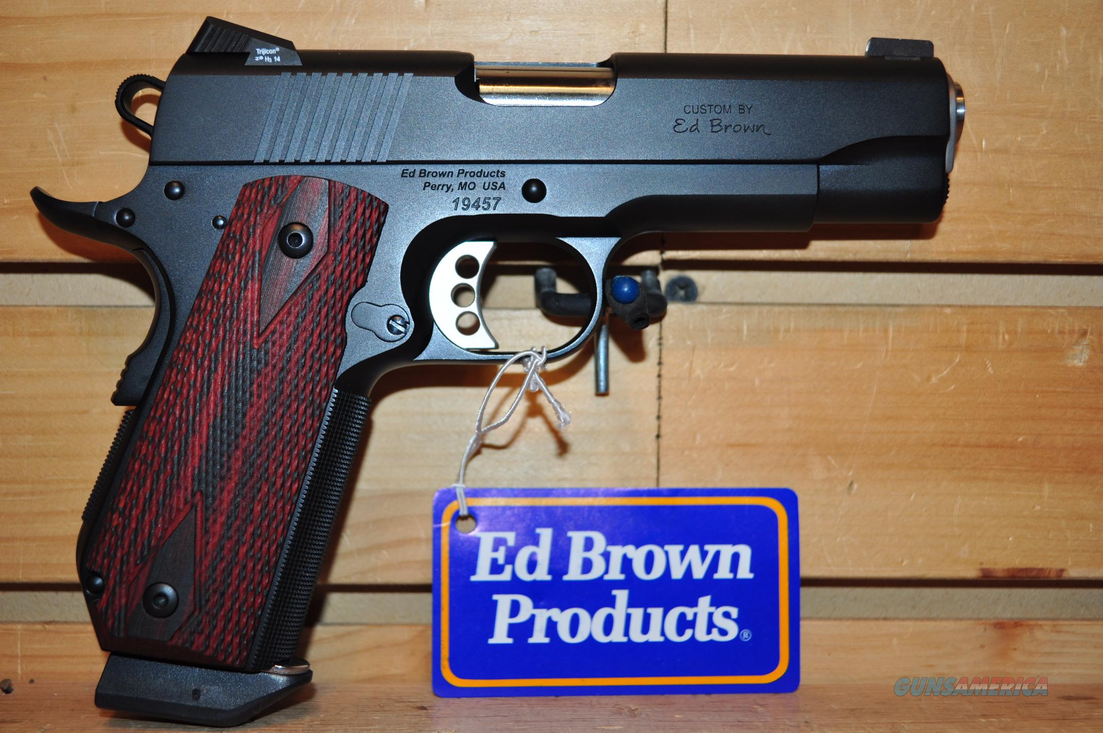 Ed Brown 25 LPI Limited Edition 38 Super FREE SHIPPING  Guns > Pistols > Ed Brown Pistols