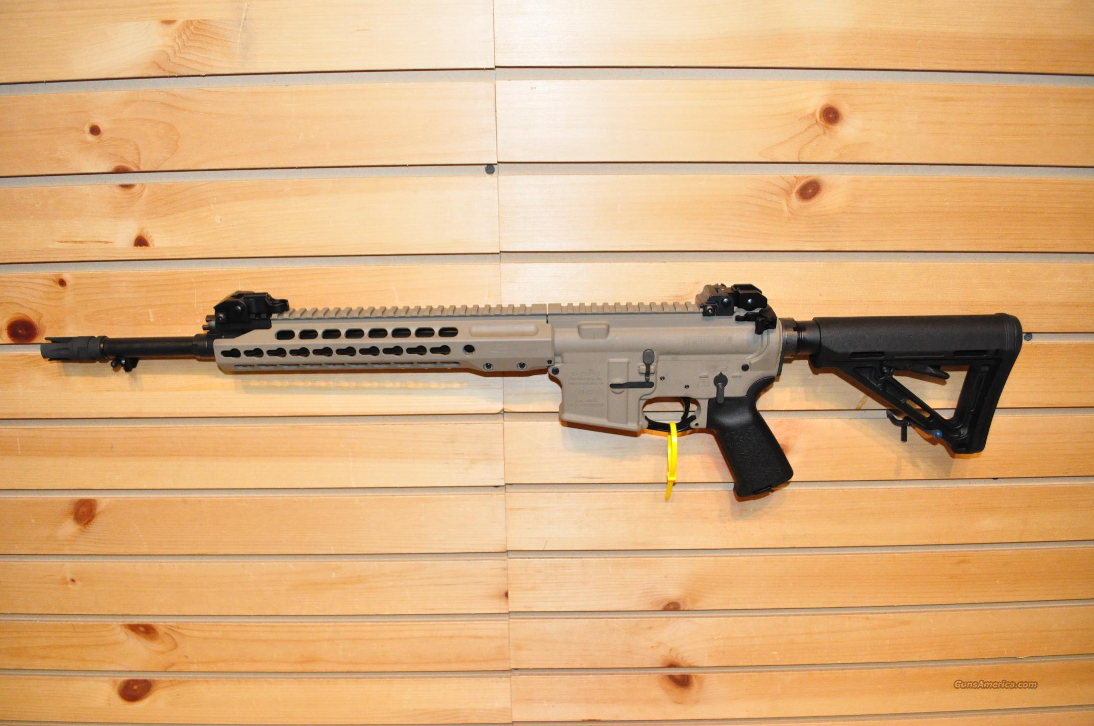 Barrett REC7 Gen II KeyMod FDE 5.56  Guns > Rifles > Barrett Rifles